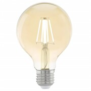 EGLO Żarówka LED w stylu vintage, E27, G80 Amber 11556 EGLO 11556