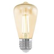 EGLO Żarówka LED w stylu vintage, E27 ST48 Amber 11553 EGLO 11553