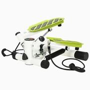 vidaXL Stepper z uchwytami i linkami oporowymi, biało-zielony vidaXL 91465