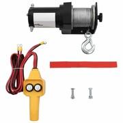 vidaXL Wciągarka elektryczna 12 V, z przewodowym sterowaniem vidaXL 210229