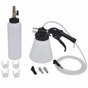 vidaXL Zestaw do odpowietrzania sprzęgła i hamulca (ze zbiornikiem) vidaXL 210071