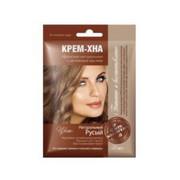 Fitokosmetik - krem-henna - naturalny blond 50 ml - naturalna henna irańska, olej łopianowy, olej ze słodkich migdałów, żeń-szeń, olej z kiełków pszenicy, keratyna
