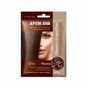 Fitokosmetik - krem-henna - mokka 50 ml - naturalna henna irańska, olej łopianowy, olej ze słodkich migdałów, żeń-szeń, olej z kiełków pszenicy, keratyna