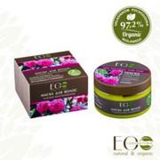 EO Laboratorie - Maska do włosów - eco rekonstrukcja 250ml - woda różana, organiczny olej jojoba, olej z lnicznika siewnego, proteiny jedwabiu (bez parabenów i silikonów)