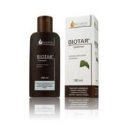 Biotar - szampon 180 ml - pielęgnacja włosów i skóry głowy z objawami łuszczycy, łojotoku, łupieżu, świądu, dziegieć brzozowy 4%