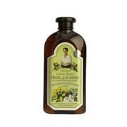 Receptury Babuszki Agafii - ziołowy płyn do kąpieli z mydlnicą lekarską - zestaw leśny – pielęgnacja skóry problematycznej – oman wielki, rumianek, prawoślaz lekarski, miodunka, mydlnica lekarska (bez parabenów)