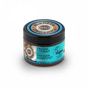 Planeta Organica - Organiczna maska do włosów 300 ml. ORGANIC COCONUT - Tropikalne nawilżenie i gładkośc