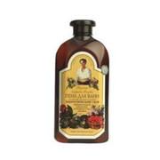 Receptury Babuszki Agafii - ziołowy płyn do kąpieli z mydlnicą lekarską 500 ml - zestaw energetyczny – cytryniec chiński, tarczyca bajkalska, tymianek, żeń szeń, mydlnica lekarska (bez parabenów)