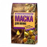 """Fitokosmetik - """"Organic Oil""""– maska do włosów farbowanych – blask i odżywienie 3X30ml- olej arganowy, olejek goździkowy (bez parbenów, silikonów i PEG)"""