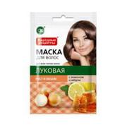 Fitokosmetik - Naturalna maska do wszystkich typów włosów - cebulowa 30 ml – wzrost i objętość- ekstrakt cebuli, ekstrakt cytryny, miód (bez parabenów i PEG)