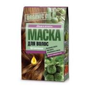 """Fitokosmetik - """"Organic Oil""""– maska dla suchych i zniszczonych włosów 3X30 ml - objętość i lekkość – olej bergamotki, oliwa z oliwek, olej grejpfruta (bez parabenów, silikonów i PEG)"""