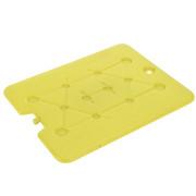 Wkład chłodzący do torby termicznej, duży, 32 x 25 cm, kolor żółty - żółty EH Excellent Houseware