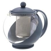 Dzbanek z zaparzaczem do herbaty Hestia, 1250 ml, Secret de Gourmet, granatowy - szary Secret de Gourmet