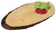Ozdobna duża deska do serwowania potraw z olchy, deska dekoracyjna, deska kuchenna, półmisek, akcesoria kuchenne, 35 cm, Kesper Kesper