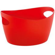 """Pojemnik do przechowywania """"Bottichelli"""" S od Koziol, kosz plastikowy, pojemnik plastikowy, pudełko do przechowywania, organizer - czerwony KOZIOL"""