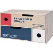 Mini komoda drewniana na drobiazgi - 4 szufladki do przechowywania Home Styling Collection