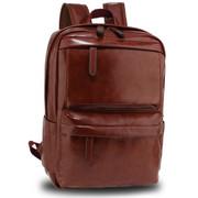 Plecak skórzany brązowy BURTON A4 BAGINC
