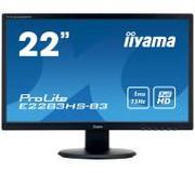 Monitor LED iiyama 21,5 E2283HS-B1