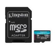 Kingston microSD Canvas Go Plus 128GB 170/90MB/S U3 SDCG3/128GB