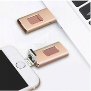USB Flash Drive 3 w 1 Apple | PC | Android 32GB PS DELUNE 631795