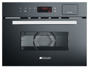 Piekarnik kompaktowy SOLGAZ SP-34-PM z funkcją pary i mikrofali - Ekspozycja