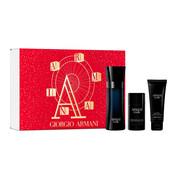 Giorgio Armani Armani Code pour Homme zestaw - woda toaletowa 125 ml + dezodorant sztyft 75 ml + żel pod prysznic 75 ml Giorgio Armani
