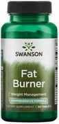 Fat Burner Spalacz tłuszczu 60 tabletek Swanson
