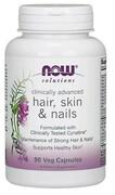 Hair włosy, skóra i paznokcie (90 kaps) NOW Foods