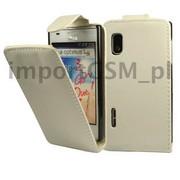 Kabura SLIGO HTC Desire 500 biały Bestphone