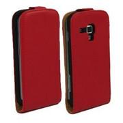 Kabura SLIM Samsung Galaxy TREND LITE czerwony - czerwony Bestphone