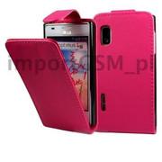 Kabura SLIGO HTC Desire 500 różowy Bestphone