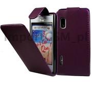 Kabura SLIGO HTC Desire 500 fioletowy Bestphone