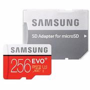 Samsung MicroSDXC EVO Plus karta pamięci micro SD 256 GB z adapterem SD Class 10 MB-MC256GA/EU Samsung