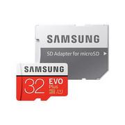 Samsung MicroSDHC EVO Plus karta pamięci micro SD 32 GB z adapterem SD Class 10 MB-MC32GA/EU Samsung