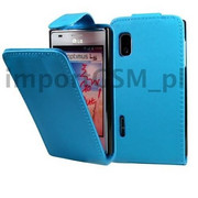 Kabura SLIGO HUAWEI Y300 niebieski Bestphone