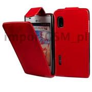 Kabura SLIGO HTC Desire 500 czerwony Bestphone