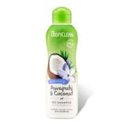 Tropiclean Awapuhi & Coconut Pet Shampoo Szampon do sierści białej i jasnej 355ml + prezent TROPICLEAN