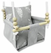 Kubełkowa huśtawka dla niemowlaka piórka - Beti Elior