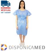 Sukienka jednorazowa niebieska