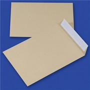 Koperty z taśmą silikonową OFFICE PRODUCTS, HK, C5, 162x229mm, 90gsm, 10szt., brązowe