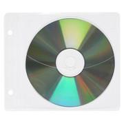 Koperty na płyty CD/DVD OFFICE PRODUCTS, do wpinania, PP, 10szt., transparentny
