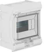 Vector outdoor Rozdzielnica n/t IP65 odporna na UV, przetłoczenia, 1R/6M (1x6) VE106PN Hager Hager
