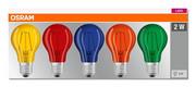 Żarówki LED 5xFILAMENT STAR DécorColor Box E27 2W MIX KOLOR 5szt Osram - Zestaw Osram
