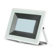 Naświetlacz LED 100W 6400K zimna 8500lm IP65 Biały V-TAC 5969 E Series - 6400K \ 100W \ Biały V-TAC
