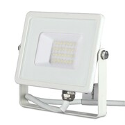 Naświetlacz LED 20W 3000K 1600lm by Samsung LED VT-20-W 442 V-TAC - 3000K \ 20W \ Biały V-TAC