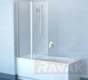 Parawan nawannowy VS2 150 BE HAPPY satyna, styren Rain (produkt poekspozycyjny) RAVAK