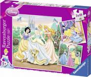 puzzle RAVEN 3X49 ELEMENTÓW KSIĘŻNICZKI DISNEY PR-094110