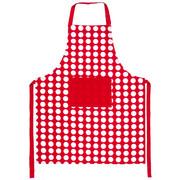 4Home Fartuch kuchenny Czerwona kropka, 70 x 90 cm 4Home