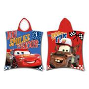 Jerry Fabrics Ponczo dziecięce Cars Fun, 50 x 115 cm