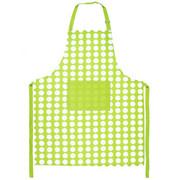 4Home Fartuch kuchenny Zielona kropka, 70 x 90 cm 4Home